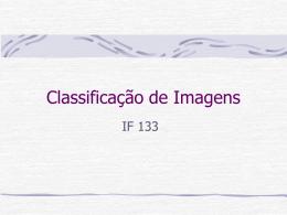Classificação de Imagens(cont.)