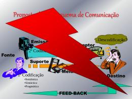 Proposta de um Esquema de Comunicação