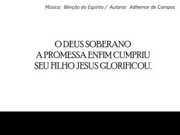 O DEUS SOBERANO3