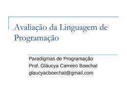 Atributos da Linguagem de Programação