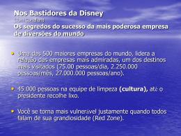 Nos Bastidores da Disney (Tom Conellan)