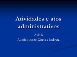 Aula_8_-_2011-1 - Acadêmico de Direito da FGV