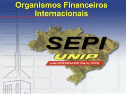 Organismos Financeiros Internacionais FMI