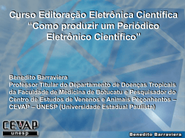 7-Como produzir um periódico eletrônico científico