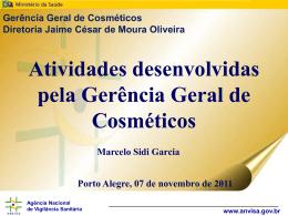 Apresentação GGCOS-ANVISA