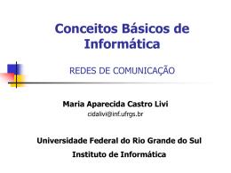 ppt - Instituto de Informática