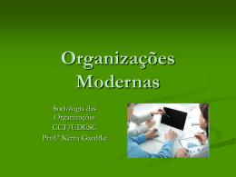 Organizações Modernas