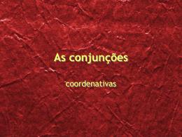 conjunções-coordenativas