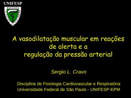 A vasodilatação do músculo esquelético em reações de alerta e a
