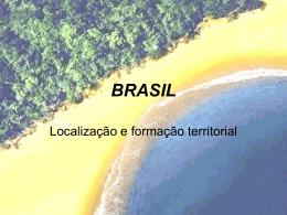 Localização do Brasil