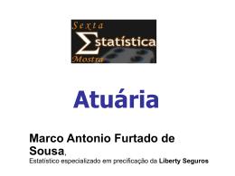 Marco Antonio Furtado de Sousa Liberty Seguros - IME-USP