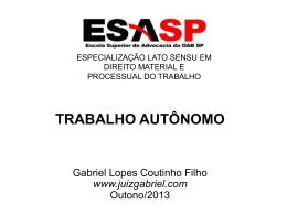 CARACTERÍSTICAS DO RCA - Gabriel Lopes Coutinho Filho
