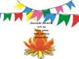 arte e festa junina