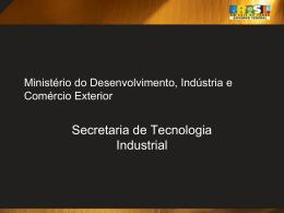 Apresentação Fórum - Ministério do Desenvolvimento, Indústria e