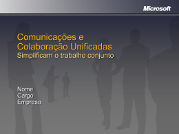 Unified Communications & Collaboration Simplify