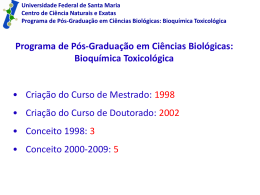 Bioquímica Toxicológica