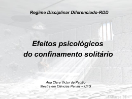 RDD - Criminologia