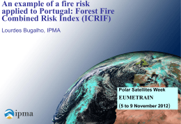Why a forest fire risk index