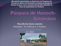 Púrpura de Henoch Schonlein