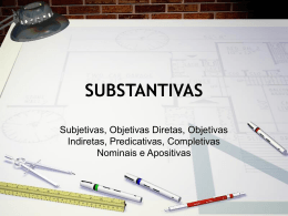 OSSubstantivas