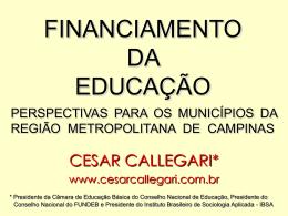fundeb sp 2009 - Cesar Callegari