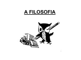 1º Aula Introdução à Filosofia