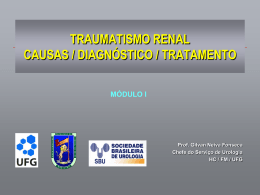 Traumatismo Renal .power point