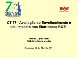 Avaliação do Envelhecimento e seu Impacto nos Eletricistas RGE