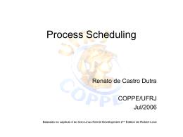 Escalonamento - Renato Dutra