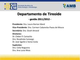 Departamento de Tireoide