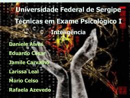 Inteligência: áreas de estudo