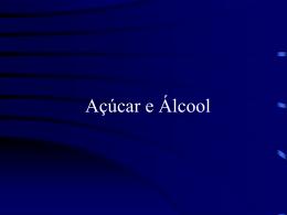 Usinas de Açúcar e Álcool