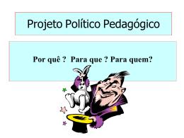 Projeto Político Pedagógico Lisete Arelaro