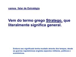 ESTRATEGIA - Logistica Anhanguera