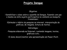 Projeto Dengue