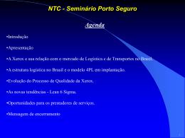 Xerox - NTC & Logística