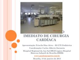 Cuidados no pós-operatório em cirurgia cardíaca