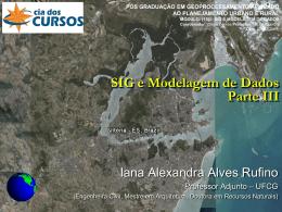 Vitoria_SIGeMod_IIIa - Área de Engenharia de Recursos Hídricos
