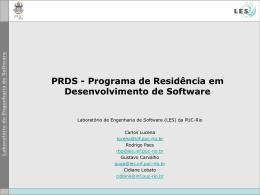 Transparências - (LES) da PUC-Rio
