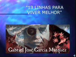 13 linhas – Gabriel Garcia Marques
