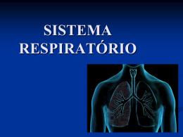 SISTEMA RESPIRATÓRIO Conceito de Respiração