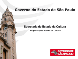 OS Governo do Estado