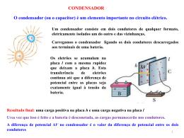 Capacidade e dielétricos