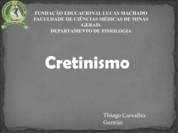 Cretinismo - CEM-HUSJ