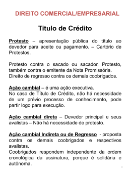 Titulo de Crédito