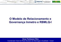 MODELO DE GOVERNANÇA - OMER - Documentos