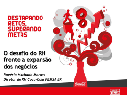 case coca-cola femsa: o desafio do rh