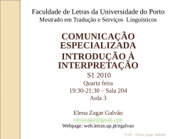 power point 2 - Universidade do Porto