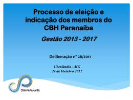 Habilitados Processo Eleitoral 2012