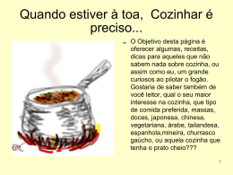 Blog_receitas - WordPress.com